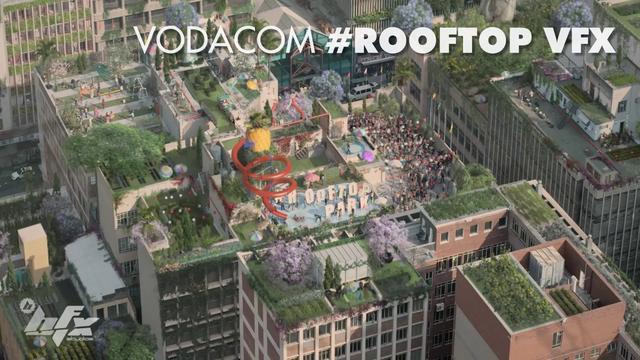 Vodacom Rooftop - VFX