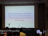 The Plight of Pinocchio: JavaScript's quest to become a real language - Brandon Keepers