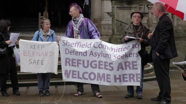 Political asylum seeker fears torture and detention if deported &#8211; Video