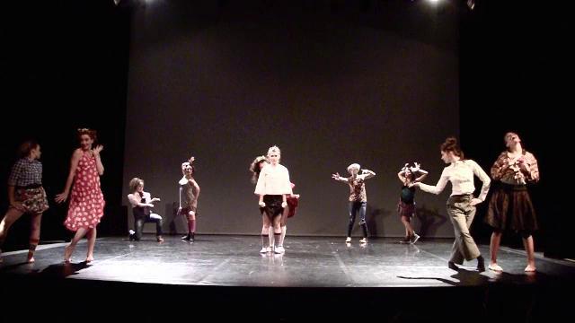 atelier moderne chor 233 graphie fau dans le cadre des estivales de la danse de tarbes 2012