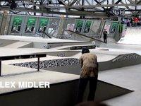 Alex Midler Bs360Kickflip FsLipslide Amsterdamn AM 2012