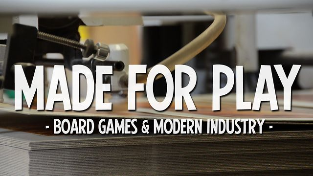 Made for Play: Board Games & Modern Industry