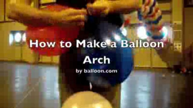How to make a balloon arch on vimeo for How to build a balloon arch