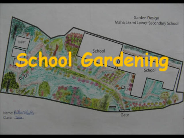 Maha Laxmi School Garden Project