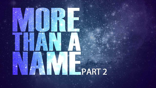 "July 15 2012 ""More Than A Name"" Part 2"