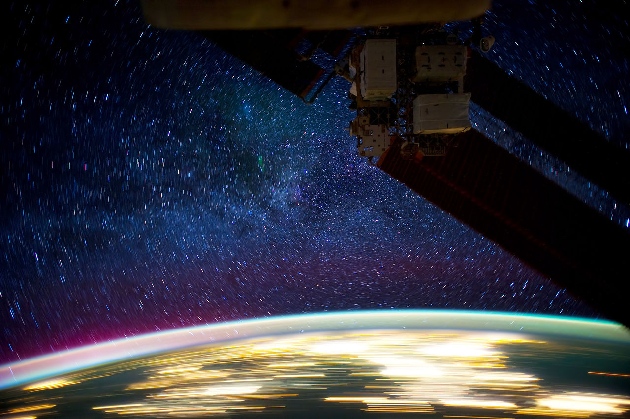 ISS Time Lapse Photography