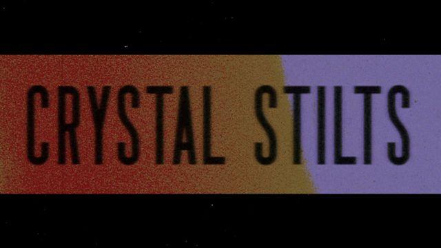 "CRYSTAL STILTS ""DARK EYES"" LIVE VIDEO"