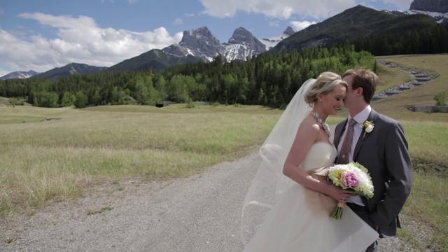 Jennifer & Ben Canmore Wedding