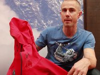 [UKC/UKH at OutDoor 2012 - Neil Gresham the Sherpa Lithang Jacket]