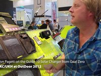 UKC/UKH at OutDoor 2012 - Guide 10 Solar Charger from Goal Zero