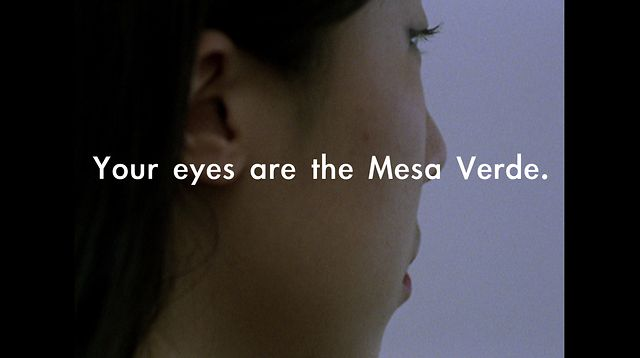 Your Eyes Are the Mesa Verde