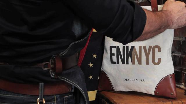 Watch | Making of the Sandast for ENK NYC Tote Bag