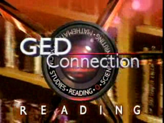 GED 111 Reading: Passing the Reading Test