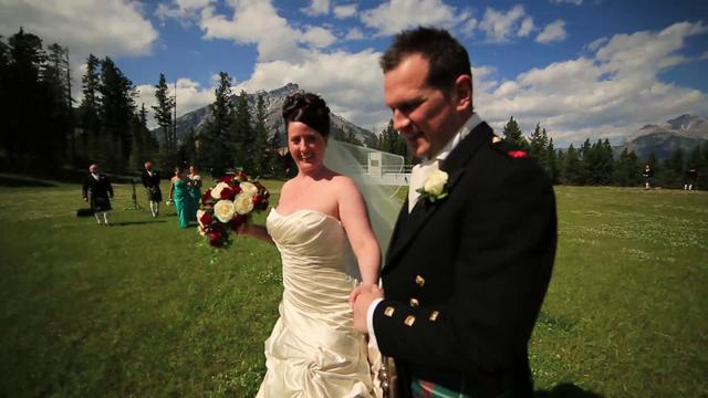 Leanne & Todd Banff Wedding Film