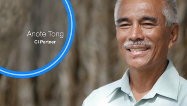 1 - Anote Tong: President, Kiribati / Lifelong Fisherman