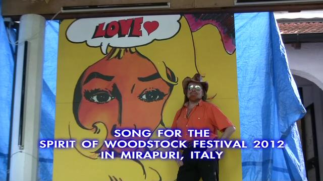 Talking Big Festival Waves - song for announcing the Spirit of Woodstock Festival 2012 in Mirapuri, Italy