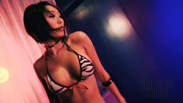 Kira Kaye Go-Go Video Shoot