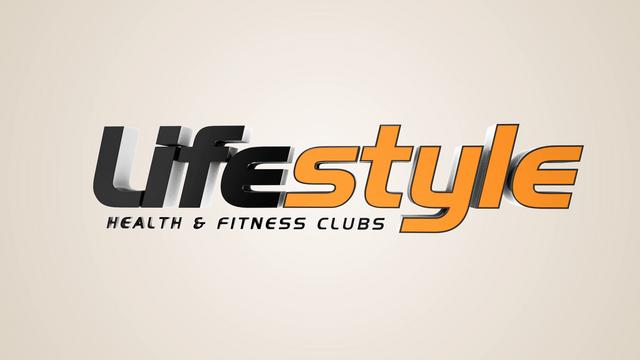Lifestyle gym logo animation