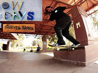 SHURIKEN SHANNON HOW TO'S DAYS; KICK FLIP BACK TAIL