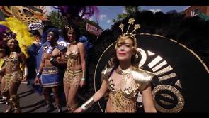 One Hackney Festival 2012 featuring the London School of Samba.