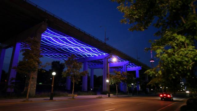 Watertable: New Media Artwork Under the Gardiner Expressway