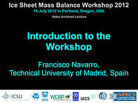 Introduction to ISMASS 2012