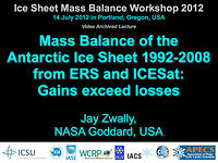 Mass Balance of the Antarctic Ice Sheet 1992-2008