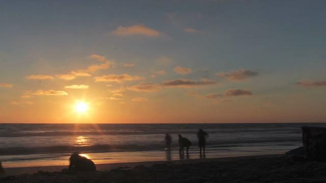 Time Lapse - Mission Beach Sunset