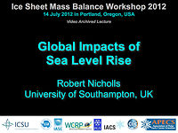 Global Impacts of Sea Level Rise