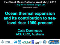 Ocean thermal expansion and its contribution to sea-level rise