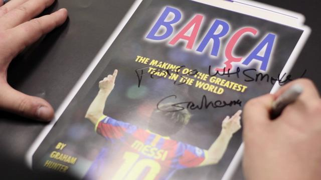 Barcelona: The Making of the Greatest Team in the World by Graham Hunter ( Book Launch Event Video)