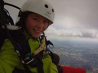 tandem paragliding flatlands july 2012