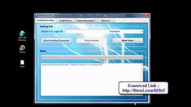 descargar programas para hackear facebook 2012