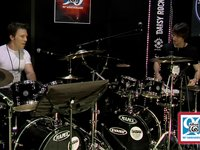 Stephane Chamberland and Steve Gendron - Drumset Duets at NAMM 2012 Part Two