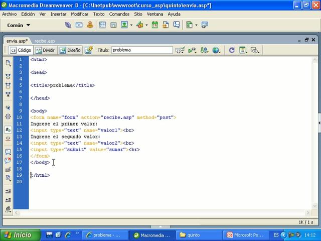 Cesar Cancino - Curso de ASP y SQL Server part5