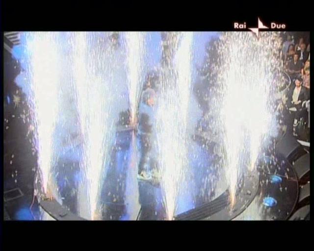 X Factor 2009 - A&K - Effetti pirotecnicì