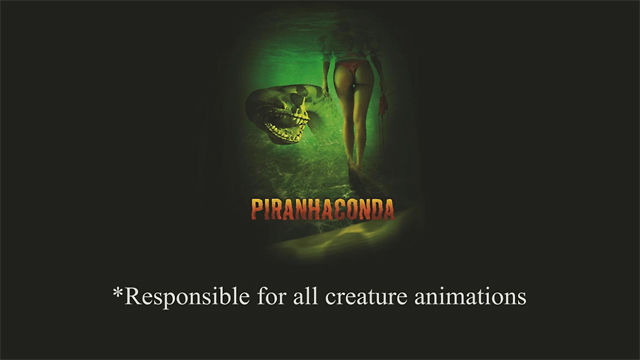 Piranhaconda (Syfy Original Film) Reel