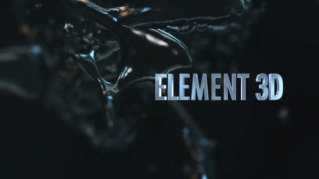 After Effectsで本気の3DCGアニメーション:Element 3D(エレメント 3D)