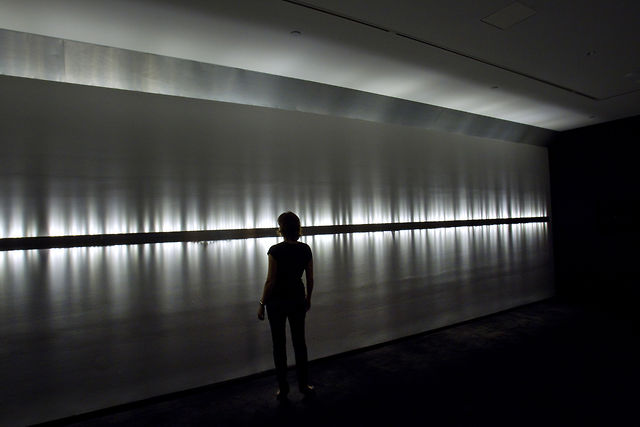 """Voice Array"" at MCA Sydney (2011) by Rafael Lozano-Hemmer"