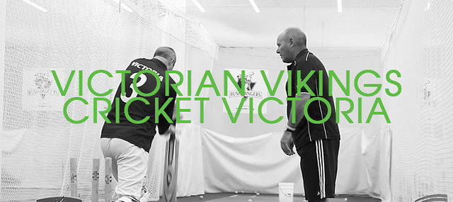 Cricket Victoria - Victorian Vikings Training Session / 2012