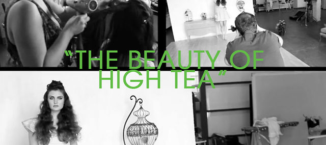 """The Beauty Of High Tea"" Fashion Shoot / Behind-The-Scenes"