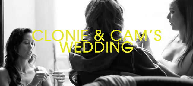 Clonie &amp; Cam&#039;s Wedding
