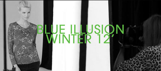 Blue Illusion - Winter 2012 Behind-The-Scenes