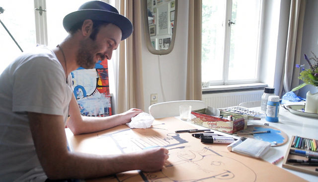 Inside the mind of a top illustrator who works with joy.