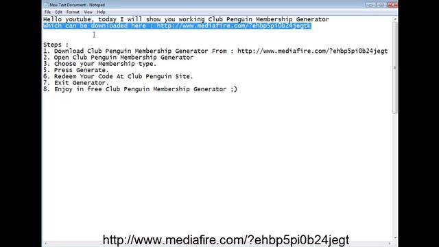Club Penguin Membership Code Generator Free