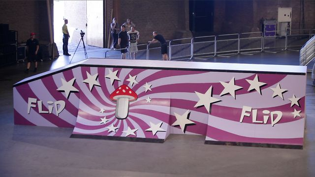 Vans Downtown Showdown 2012 - Amsterdam - Flip Obstacle Highlights.