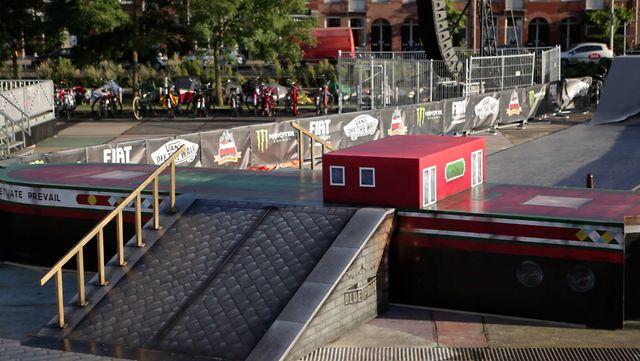 Vans Downtown Showdown 2012 - Amsterdam Blueprint Obstacle Highlights.