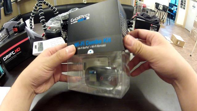 Gopro WIFI Bacpac and WIFI Remote Combo kit unboxing