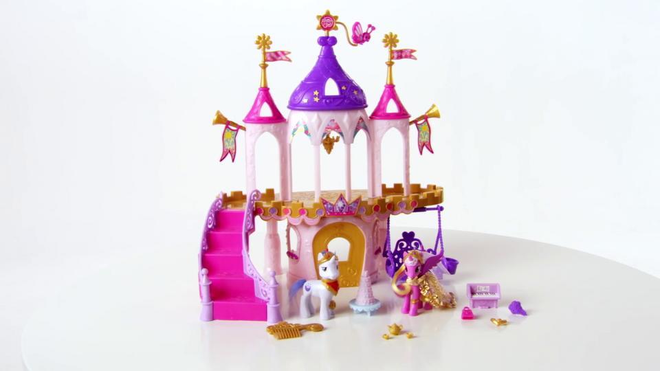 My little pony набор королевский свадебный замок