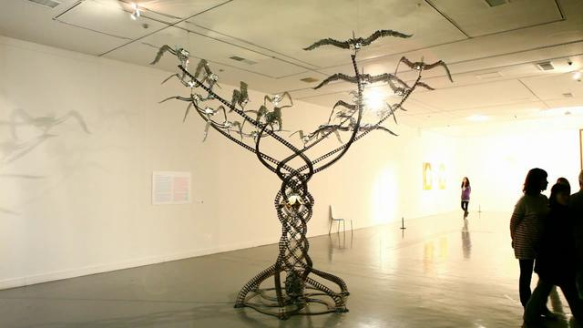 """Arbor Deus (Tree of God)"" (2010) by U-Ram Choe"